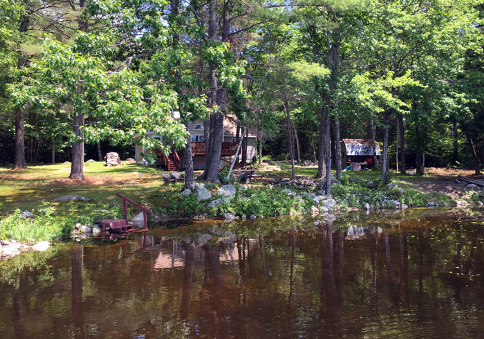 Maine Sebago Lake Region Vacation Rental spdior.20.JPG